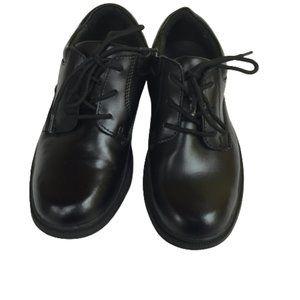 Stride Rite Size 2.5W Boys Black Shoes